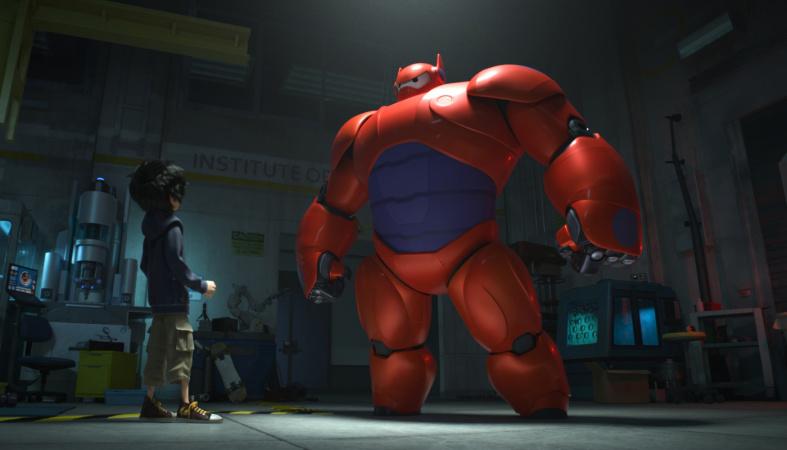 Baymax macht starke Anleihen bei Iron Man (Copyright: Disney)