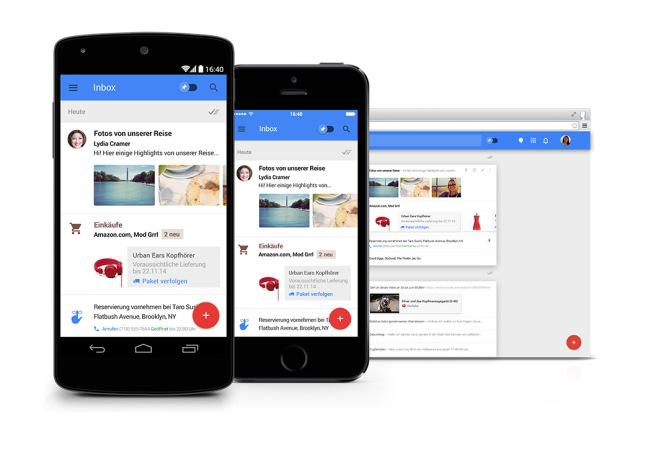 Ein Design-Update macht Gmail fit für die Zukunft (Copyright: Google)