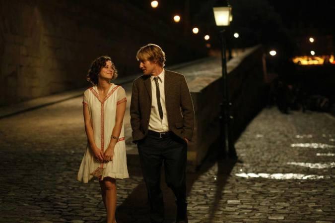 Gil Pender (Owen Wilson) und Adriana (Marion Cotillard) im nächtlichen Paris
