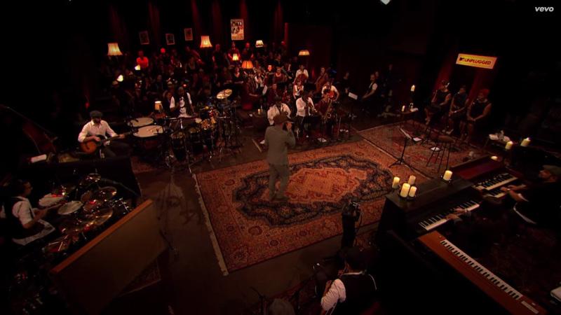 Typische MTV-Unplugged-Wohnzimmeratmosphäre