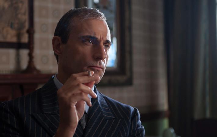 Teils gut besetzte Nebenrollen (hier Mark Strong als MI6-Chef) bleiben eher flach (Copyright: The Weinstein Company)