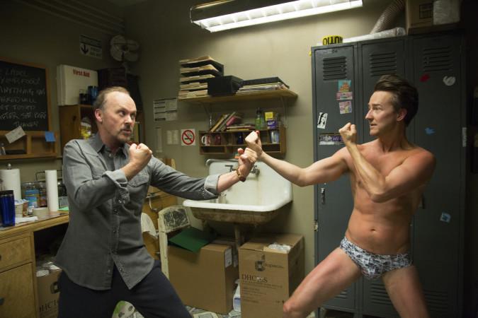 Riggan und Mike geraten im Verlauf des Films immer mehr aneinander (Copyright: FOX Searchlight Pictures)