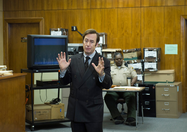 Better Call Saul: Jimmy McGill im Gerichtssaal (Copyright: Ursula Coyote/AMC)