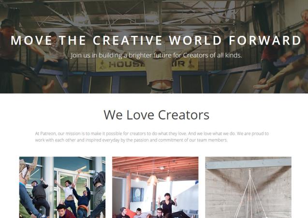Die kreative Welt nach vorne bringen