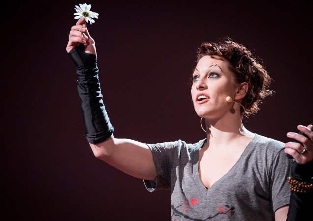 Amanda Palmer: The Art of Asking (Copyright: Amanda Palmer/TED Talks)