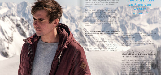 Tom James im tris magazin (Screenshot: tris magazin)
